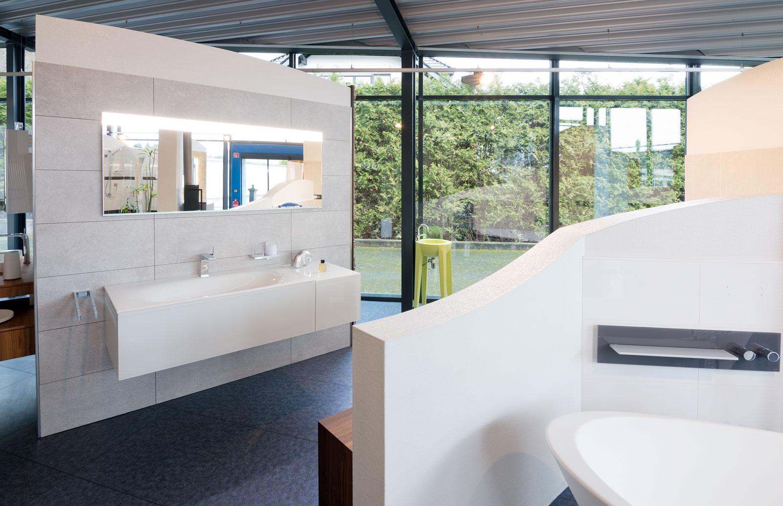 Unsere Ausstellung für Badezimmer in Overath – Christoffel GmbH
